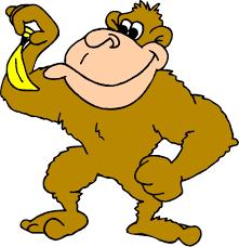 banana monkey cliparts cliparts zone