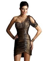 one shoulder cocktail dress 2450 promgirl net