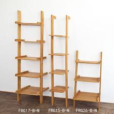 Corner Ladder Bookcase by Haotian Modern Ladder Bookcase Made Of Wood Book Shelf Stand