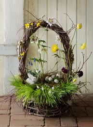 Grapevine Floral Design Home Decor The 23 Best Easter Porch Decor Ideas And Designs For 2017