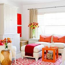 Orange Living Room Decor Pink And Orange Living Room Design Ideas Pictures