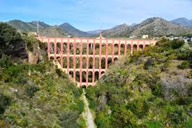 acueducto del águila eagle aqueduct nerja