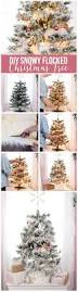 how to decorate a white flocked christmas tree the diy mommy