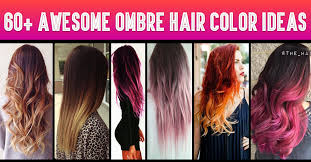 over forty hairstyles with ombre color 60 awesome diy ombre hair color ideas for 2017
