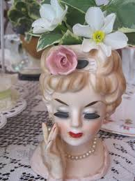 111 best head vases images on pinterest half dolls head