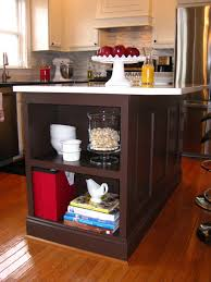 Kitchen Bookshelf Ideas by Remodelando La Casa Kitchen Island Update