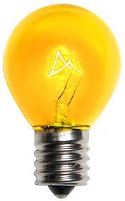 e17 patio and light bulbs s11 dipped transparent