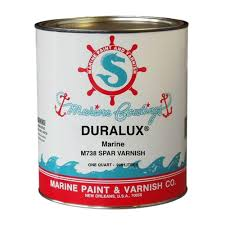 duralux marine paint 1 qt clear spar varnish m738 4 the home depot