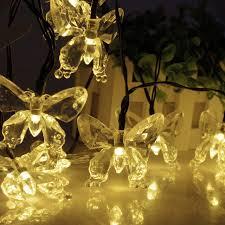 solar led christmas lights outdoor led christmas lights butterfly solar led l 20 30 led outdoor