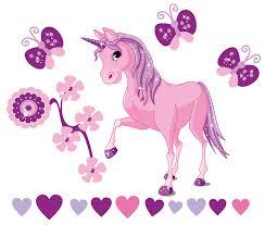 unicorn fantasy wall stickers totally movable buy now fantasy unicorns strip jpg