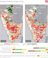 drought status in india and east africa