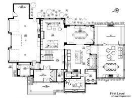 free ranch house plans mid century modern ranch house plans first floor elevation with