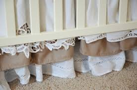 Bed Skirts For Cribs How To Create A Layered Ruffled Cribskirt Makely