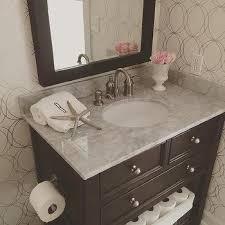 Powder Bathroom Vanities Espresso Powder Room Bathroom Vanity Design Ideas