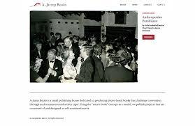 a jump books website on behance