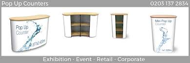 Pop Up Reception Desk Mini Pop Up Counter And Portable Reception Desk Counta