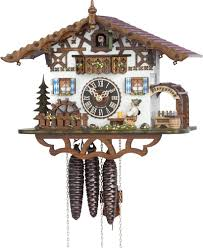 Chalet Style by Cuckoo Clock 1 Day Movement Chalet Style 26cm By Hönes 665m