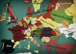 Map Of Europe 1500 by Alternate Europe Hansa 1500 By Zalezsky On Deviantart