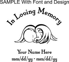 in loving memory items free in loving memory baby kids custom made vinyl decal other