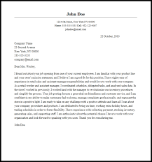 sample assistant store manager cover letter retail assistant