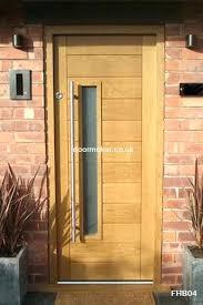 Oak Exterior Doors Modern Wooden Front Doors Contemporary Front Door All Wood Modern