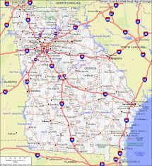ga map map of ga map of map state map map