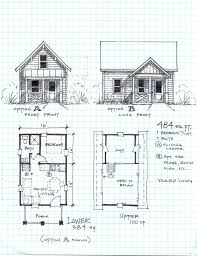 gambrel home plans 30 unique cottage floor plans loft free small cabin plans