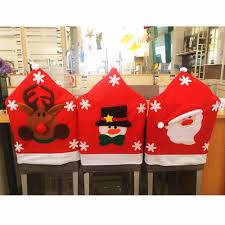 online get cheap 50 christmas chair covers aliexpress com
