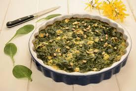 cuisiner epinard frais clafoutis d épinards au chèvre frais au fil du thym