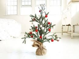 xmas tree on table 21 table size christmas trees to set the holiday mood