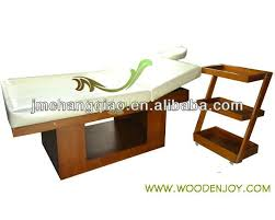 ayurvedic massage table for sale modern spa furniture wooden massage table 068 set big size