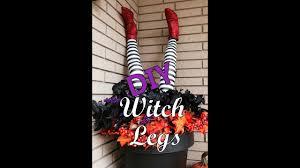 Halloween Wreath Witch Legs Witch Legs Diy Interior Design Terri Youtube