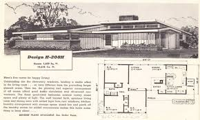 1950s Ranch House Plans Bold Design 12 1954 Home Dutch Boy House Paint Ad 1950s Midcentury