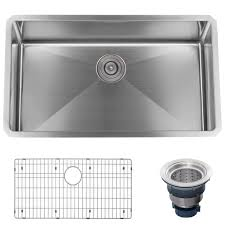 faucet com mno163018sr in 16 gauge stainless steel by miseno