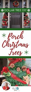 dollar tree diys porch trees for cheap