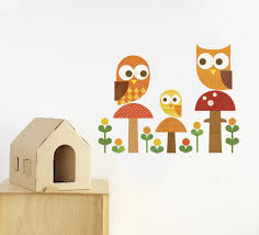 owl family wall decal walldecals com owl family wall decal