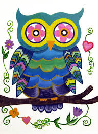 Owl Decorations For Nursery by Hand Made Owl Cute Wall Art For Kids Room Nursery Painting Not A