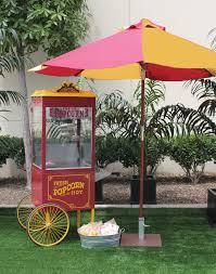vintage popcorn cart town u0026 country event rentals