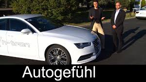 Ballard Power Systems Volkswagen Exclusive Test Drive Audi A7 H Tron Fuel Cell Electric Vehicle