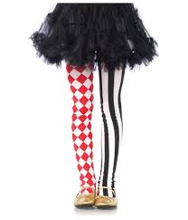 harlequin girls tights costume accessories