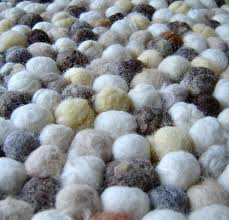 Wool Ball Rug Felt Ball Rug 3 Steps With Pictures