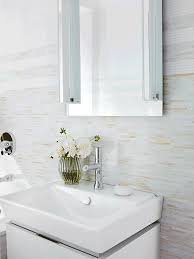 Bathroom Glass Tile Designs by Ann Sacks Lume Sticks Glass Mosaic In Cream And White Designer
