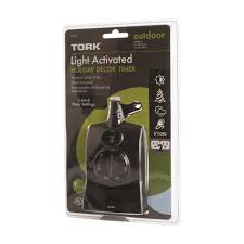 tork outdoor light activated decor timer 652b rural king