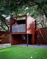 Modern Back Yard 15 Modern Playhouses For Cheerful Backyards