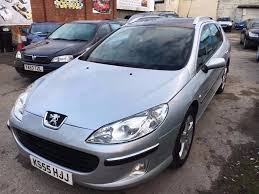 peugeot 407 estate se petrol manual 2006 panoramic in longsight