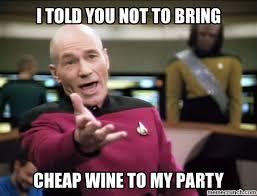 Cheap Meme - wine