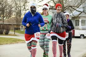 ugliest sweater photos bloomington hosts ugliest sweater run at miller park wglt