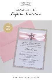 Sample Baptismal Invitation Cards 28 Best 1st Communion Christening Invitations Images On Pinterest