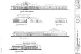 emc spca exterior elevations floor plans sierra news online house