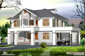 Kerala Design Homes Kerala Home Design And Floor Plans Western Style House Rendering